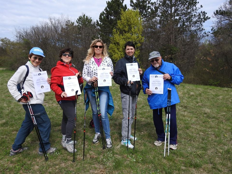 2016-04-10 Corso Nordic Walking Basovizza Sincrotrone