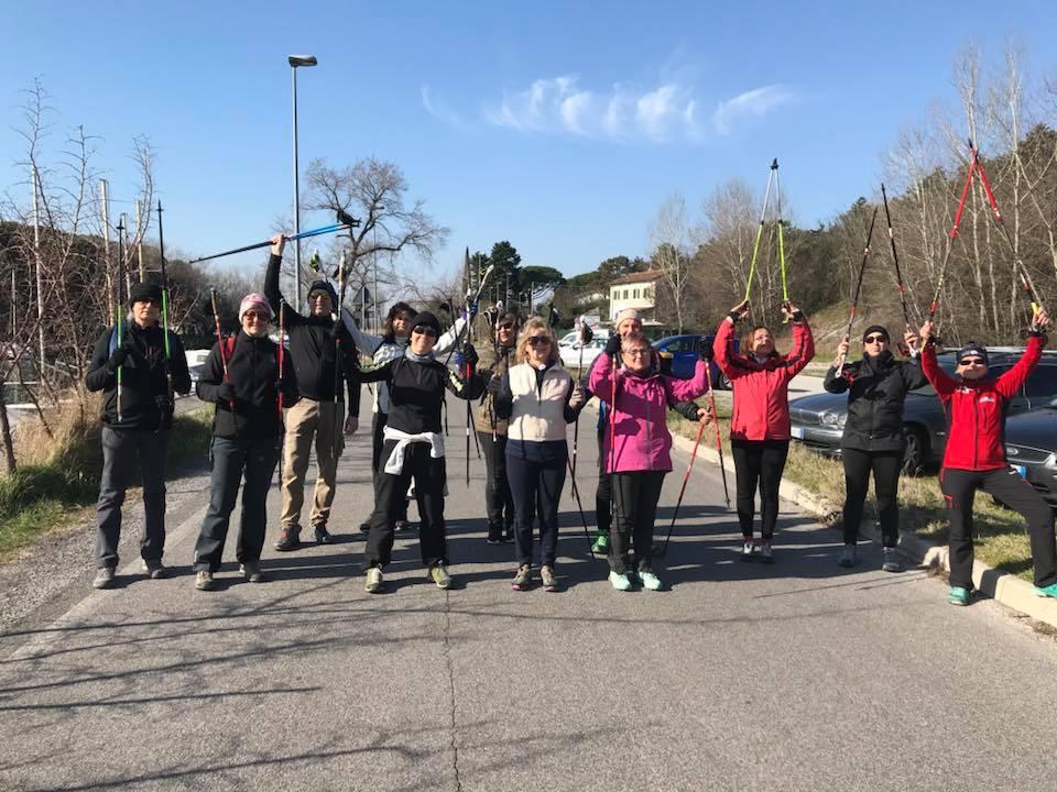 2018-02-10+11 Corso Nordic Walking - Villaggio del Pescatore
