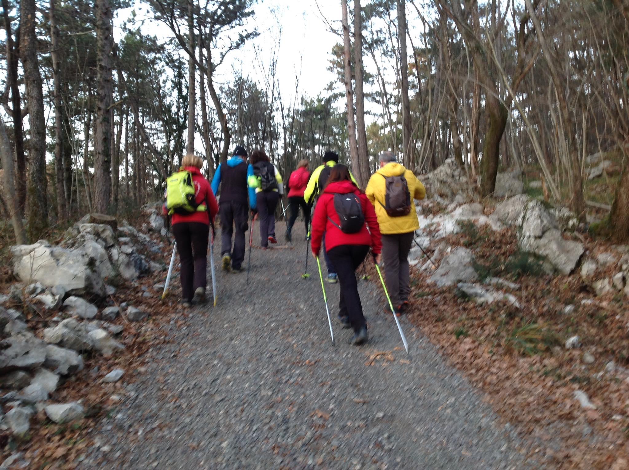 2020-01-22 Nordic Walking - Monte San Leonardo(S) (5)