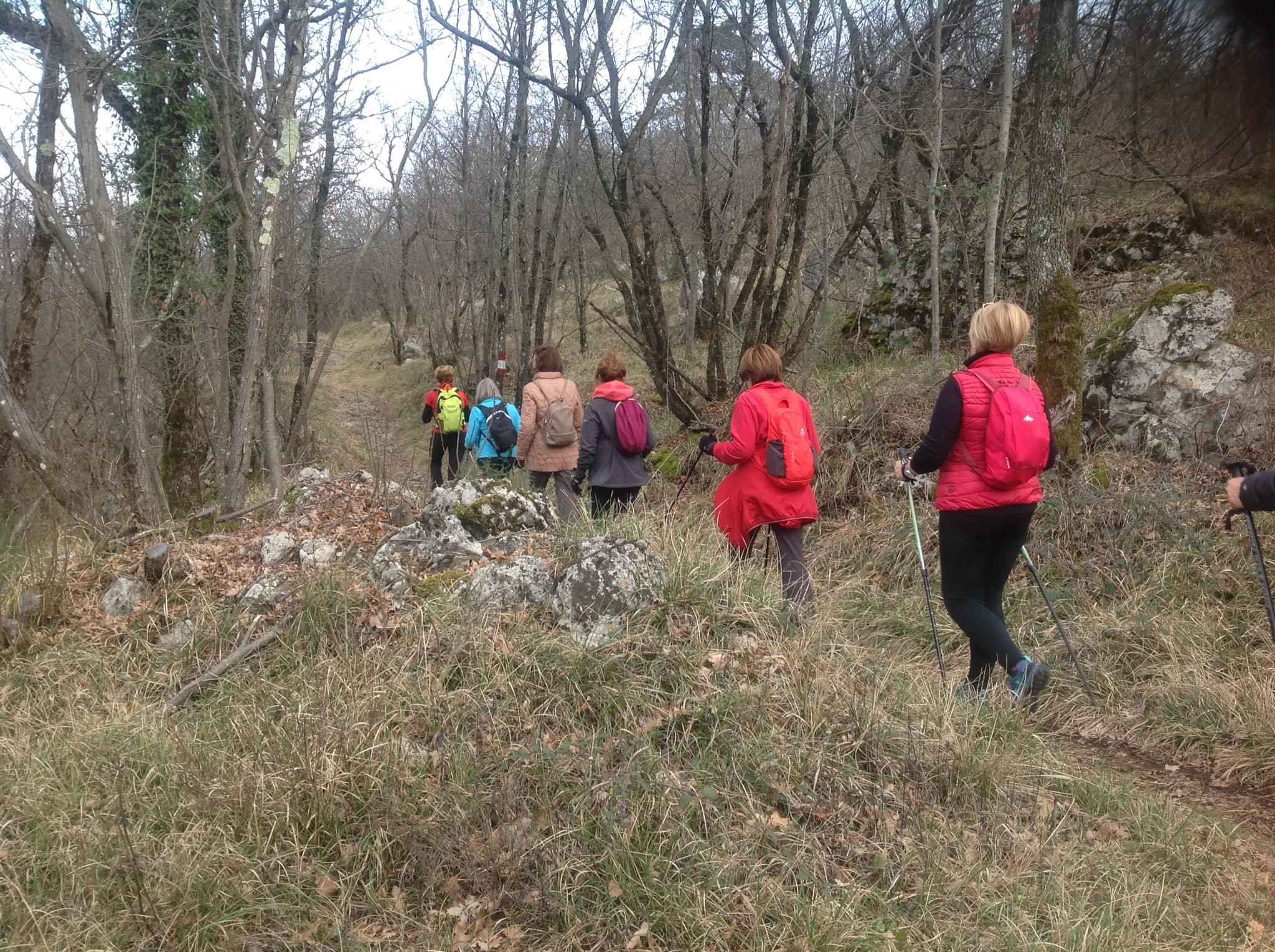 2020-02-27 Nordic Walking - Sgonico - Ostri Vrh – Riserva Naturale del Monte Lanaro (S) (3)
