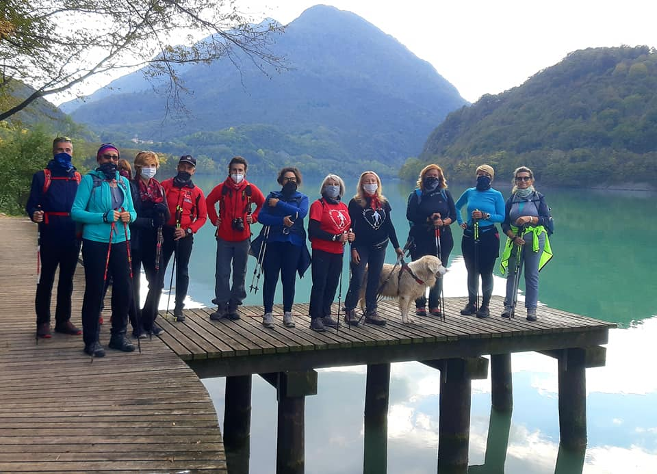 2020-10-18 Nordic Walking - Lago di Cavazzo (D) (4)
