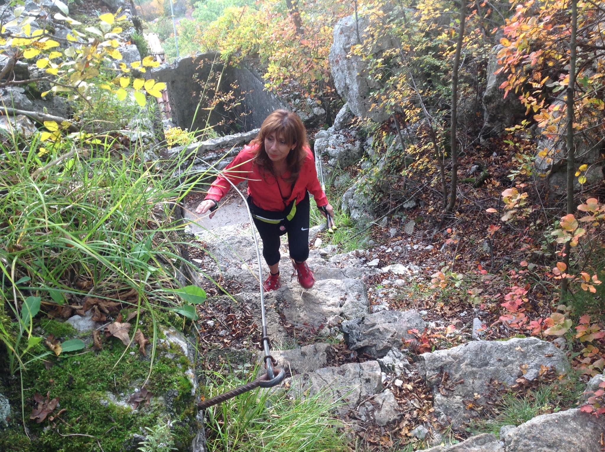 2020-10-28 Nordic Walking - Doberdò del Lago, Rifugio Cadorna, Gradina (S) (7)