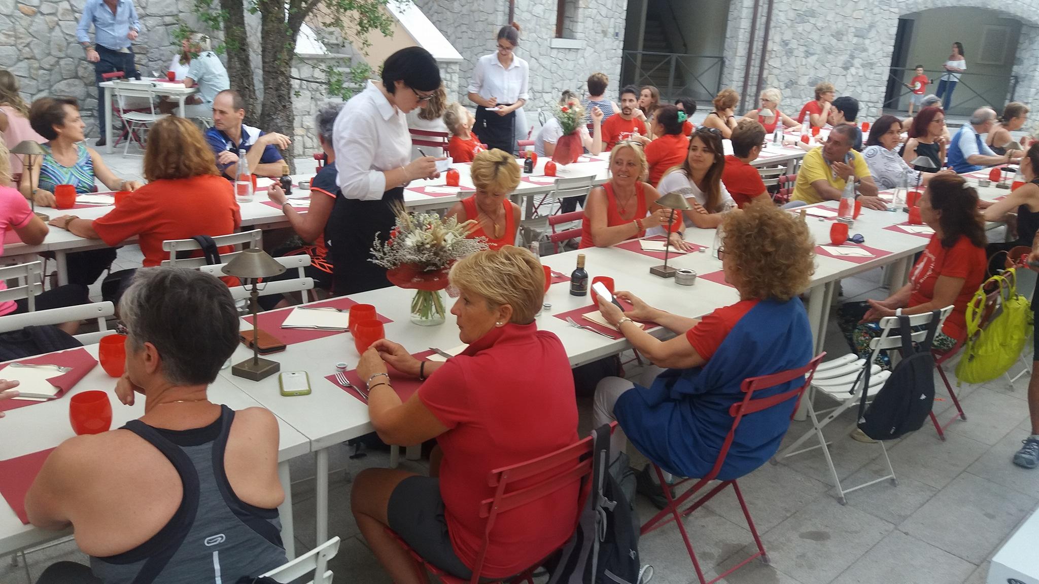 Cena Sociale Nordic Walking Duino - Portopiccolo - L'Oro di Napoli 21-06-2018 (G6)