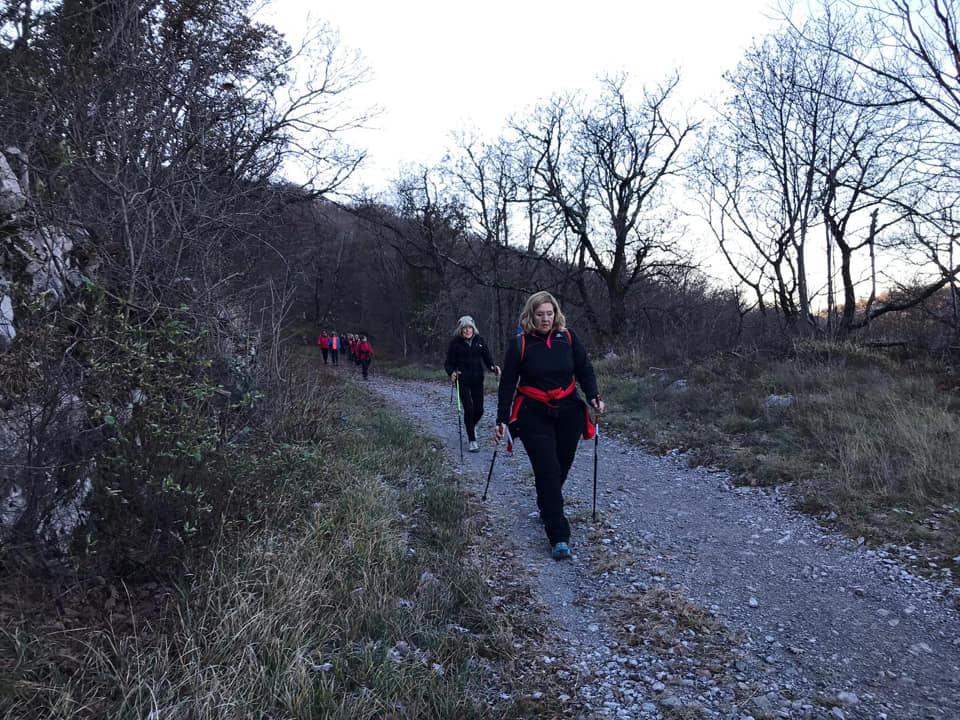 Medeazza - Cerolje-Ceroglie 12-12-2018 (CA