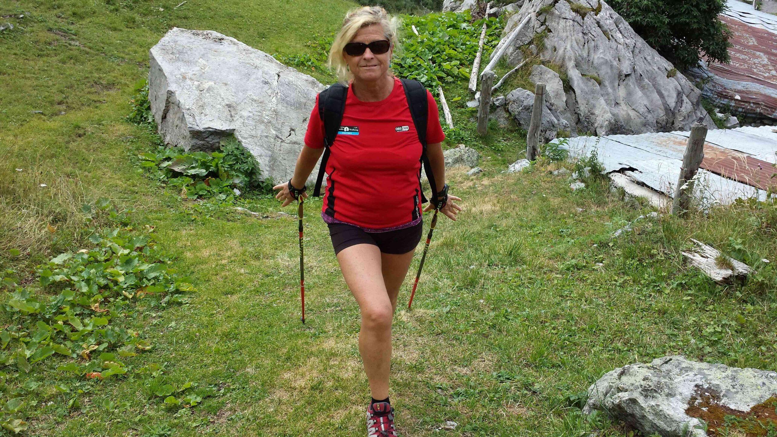 Nordic Walking - Alessandra Malga dei Buoi 15ago2013 (2)