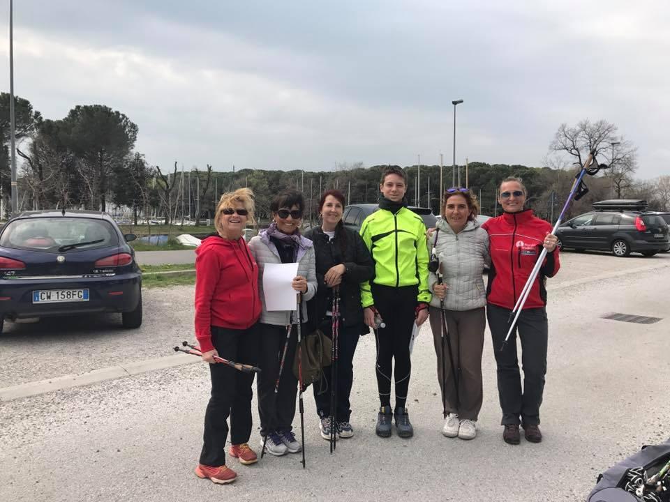Nordic Walking Corso Villaggio 25mar2017