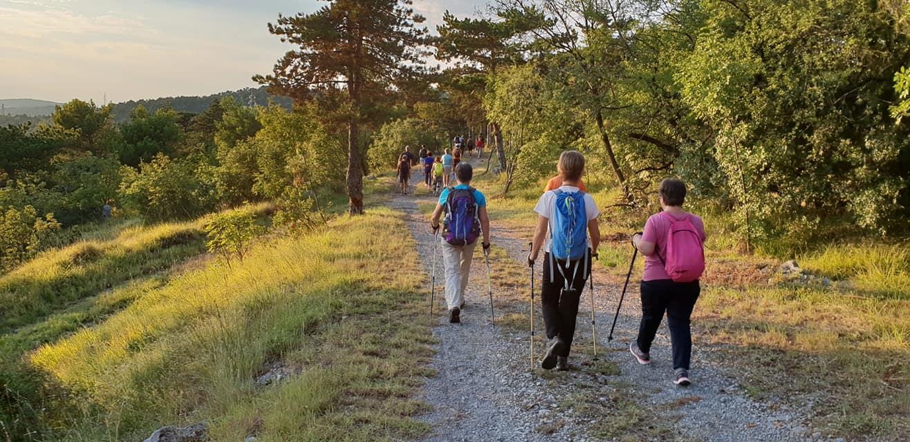 Nordic Walking Duino - Eclissi di Luna 19-07-2018(F1)