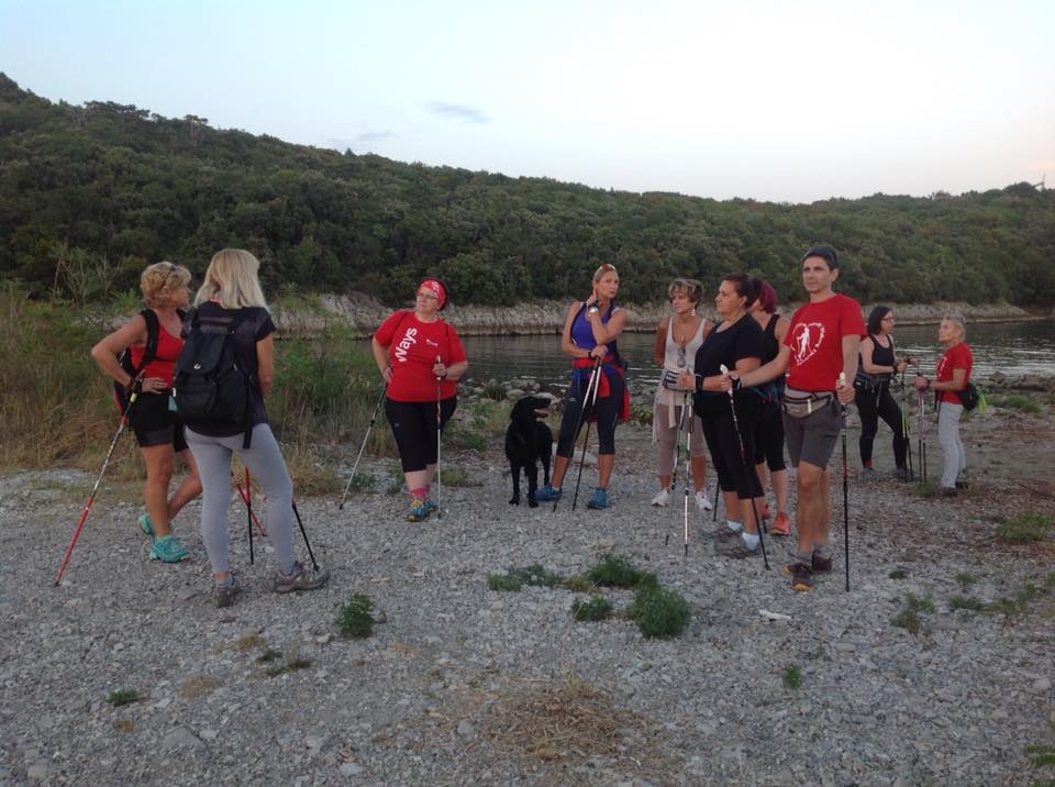 Nordic Walking Duino - Pizza in Piazza 11-08-2018 (F3)