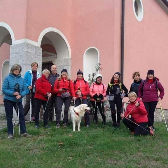 Sela na krasu-Sella delle Trincee e Nova vas-Novavilla 05-12-2018 (C3)