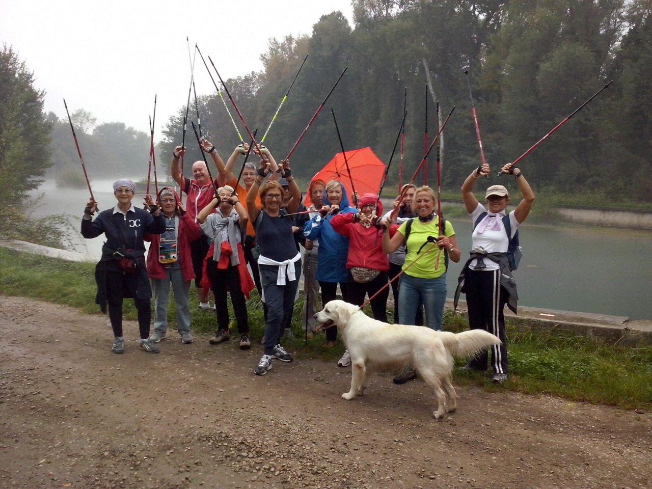 2014-10-01 Corso Nordic Walkig Villaggio Pescatore