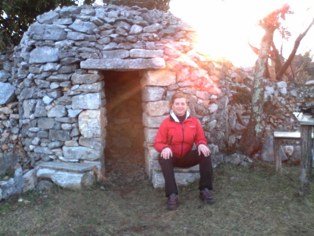 2015-02-17 Nordic Walking - Komeno - Volčji Grad - Sveto (8)
