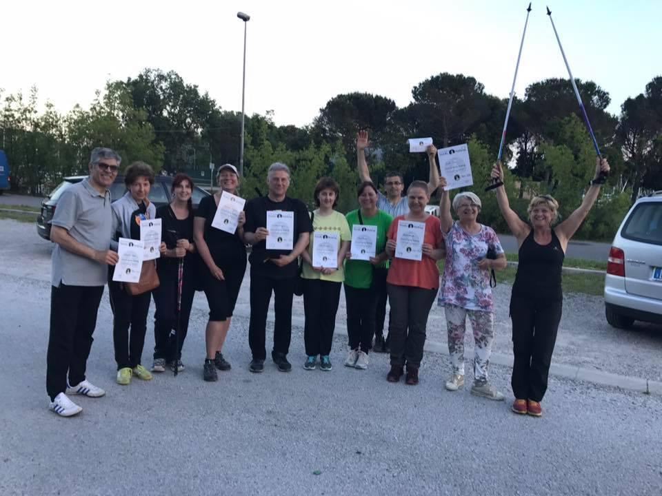 Nordic Walking Corso Villaggio del Pecsatore 25mar2017 (2)