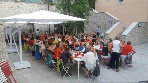 Cena Sociale Nordic Walking Duino - Portopiccolo - L'Oro di Napoli 21-06-2018 (G11)