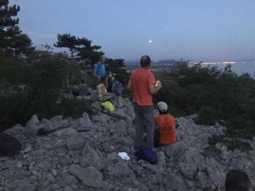 Nordic Walking Duino - Eclissi di Luna 19-07-2018(CA2)