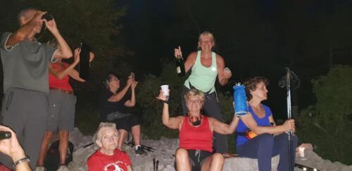 Nordic Walking Duino - Eclissi di Luna 19-07-2018(F6)