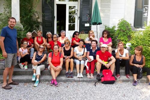 Passeggiata bucolica a Villa de Nordis Gorizia 05-07-2018 (C7)